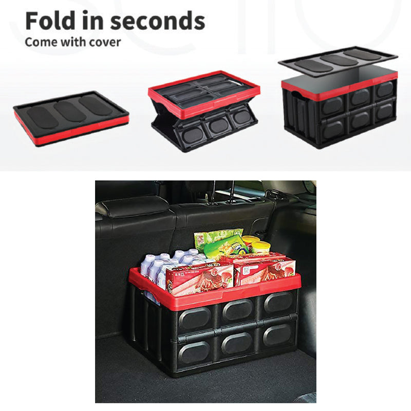 55 LITRE COLLAPSIBLE STORAGE CONTAINER