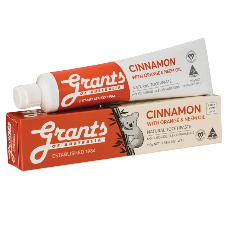 GRANTS CINNAMON ZEST TOOTHPASTE