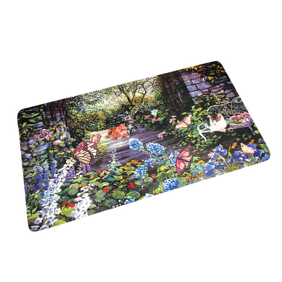 CUSHION FOAM PHOTO PRINT FLOOR MAT
