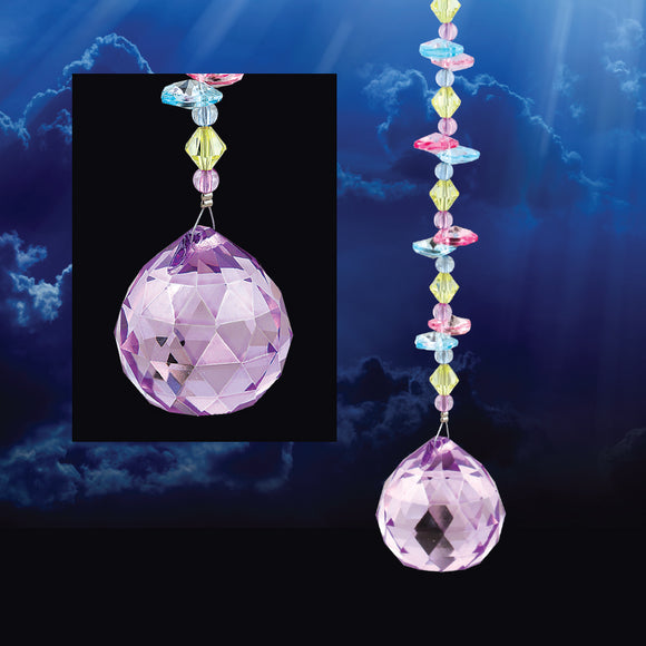 LARGE CRYSTAL BALL SUNCATCHER