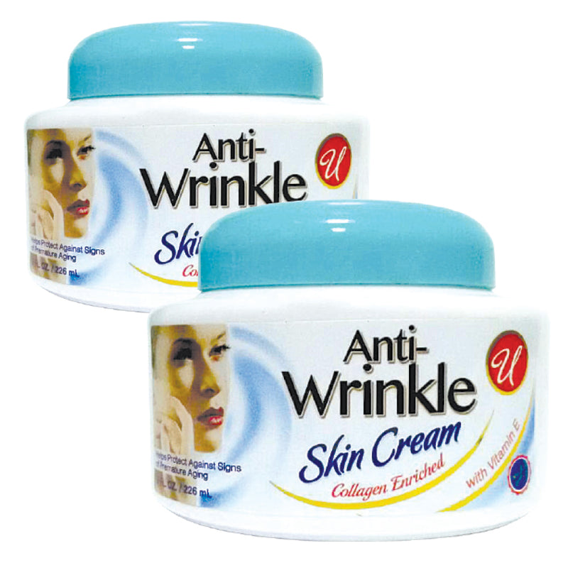 SET OF 2 ANTI WRINKLE SKIN CREAMS