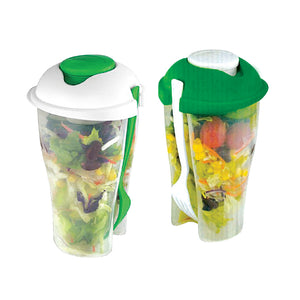 2 SALAD TO GO CONTAINERS