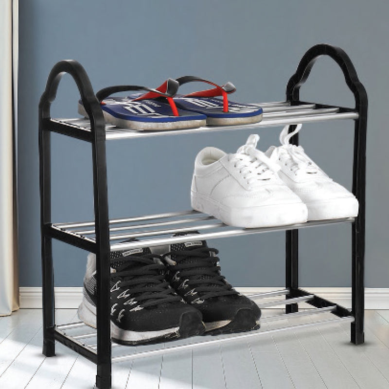 3-TIER SHOE RACK