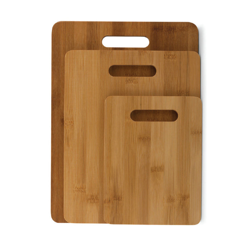 SET OF 3 BAMBOO CHOPPING BOARDS