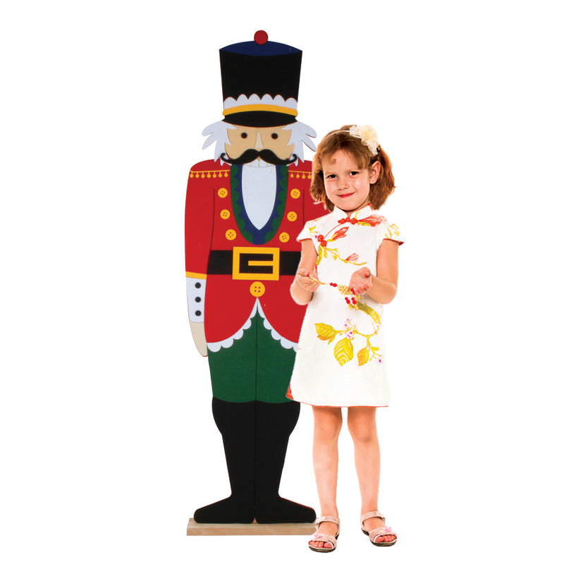 140CM TALL NUTCRACKER STAND UP