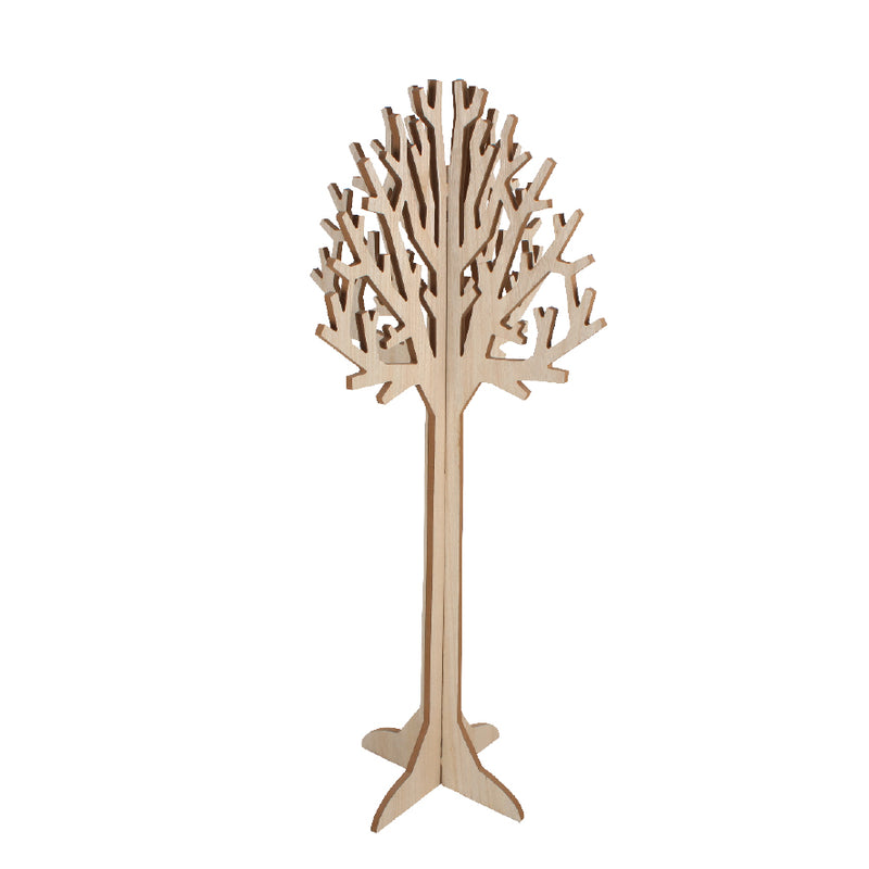 LARGE WOODEN TREE DISPLAY