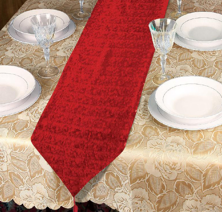 SEQUINNED CHRISTMAS TABLE RUNNER