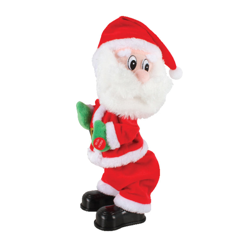 TWERKING SINGING AND DANCING SANTA