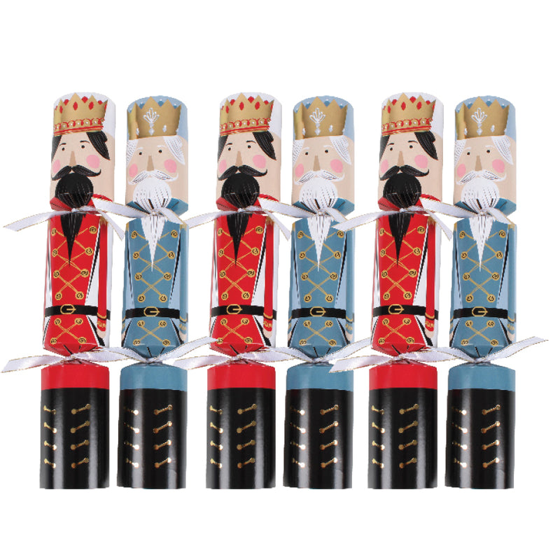 6 NUTCRACKER CRACKERS