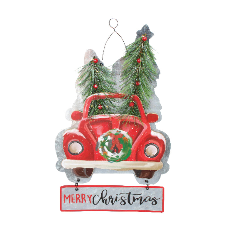 LIGHT UP CAR HANGING SIGN
