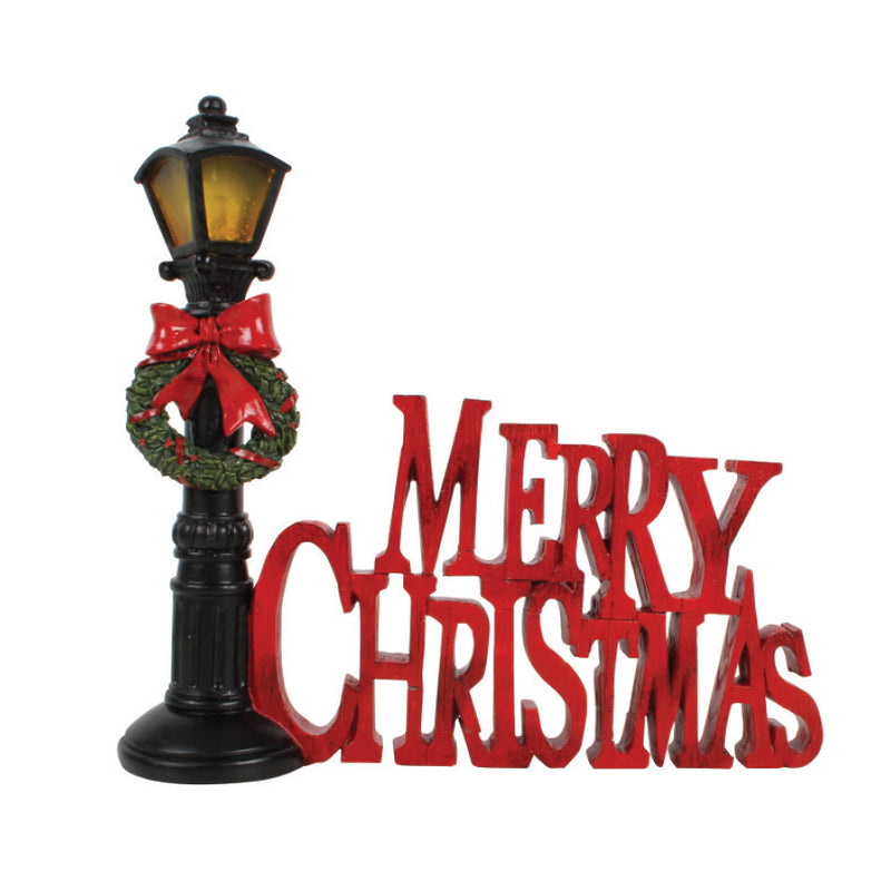 LIGHT UP CHRISTMAS LAMPPOST DISPLAY