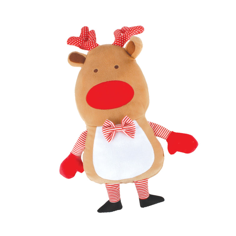 JUMBO PLUSH REINDEER CUSHION