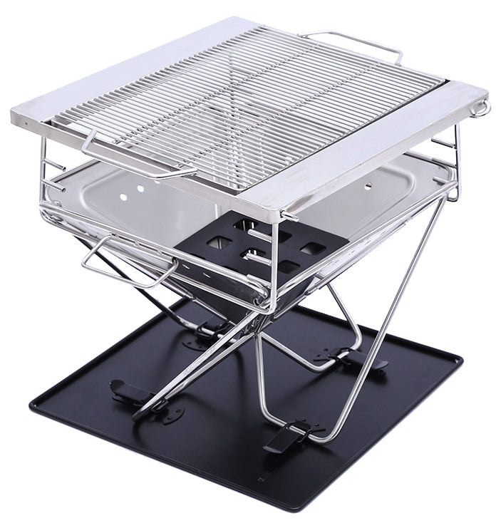 FRONTIER 450 STAINLESS STEEL FOLD BBQ