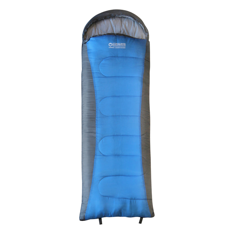 FORREST JUNIOR HOODED SLEEPING BAG 205X65CM 5 TO 10C