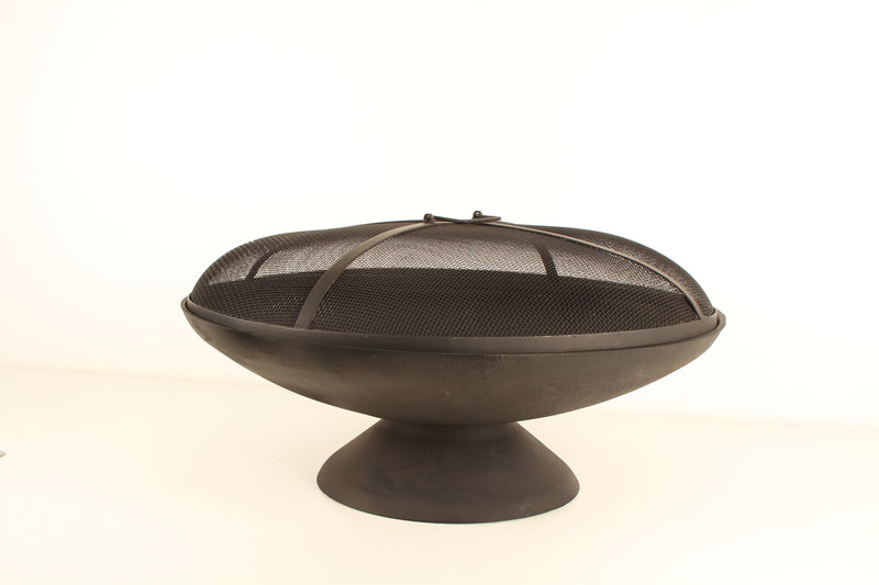 CAST IRON FIRE PIT 59 X 32CM 6MM THICKNESS