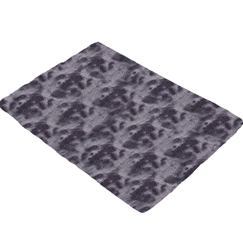 Floor Rug Shaggy Rugs Soft Large Carpet Area Tie-dyed Midnight City 200x300cm