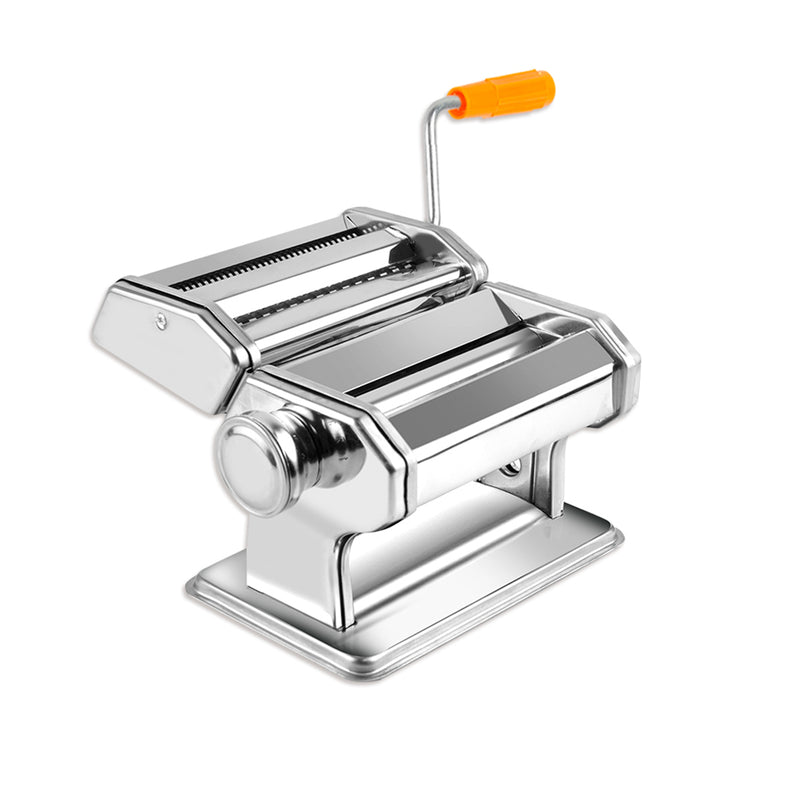 150mm Stainless Steel Pasta Making Machine Noodle Food Maker 100% Genuine Silver