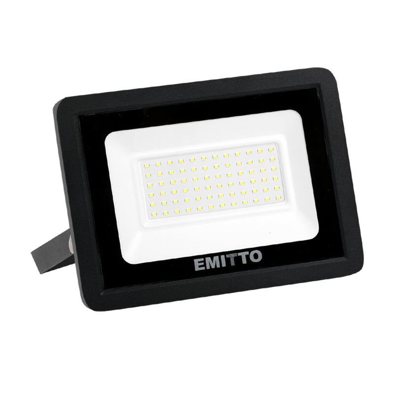 Emitto LED Flood Light 50W Outdoor Floodlights Lamp 220V-240V Cool White