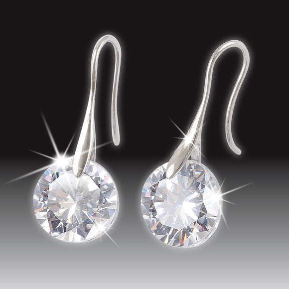SWAROVSKI PIERCED EARRINGS