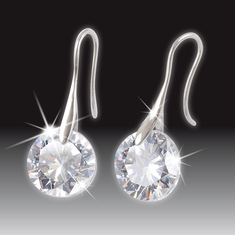 SWAROVSKI® ELEMENTS PIERCED EARRINGS