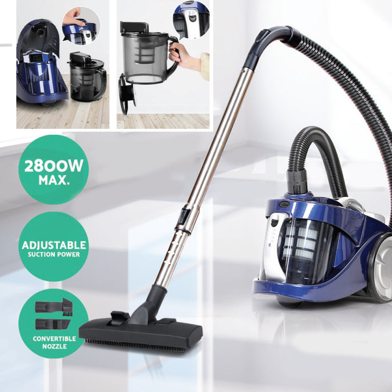 BAGLESS 2800W VACUUM CLEANER