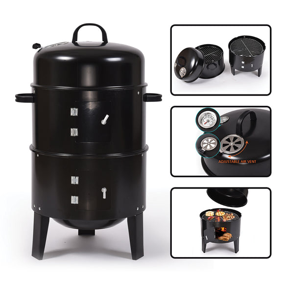 VERTICAL BBQ SMOKER