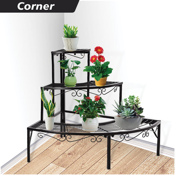 CORNER STYLE PLANT STAND