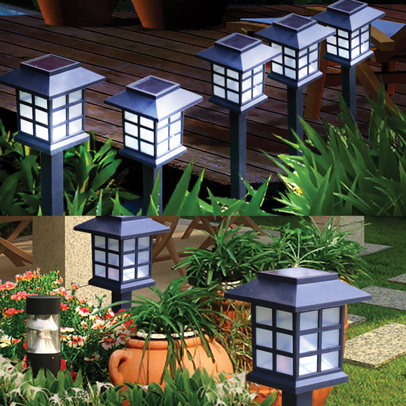 SET OF 6 GARDEN LIGHTS