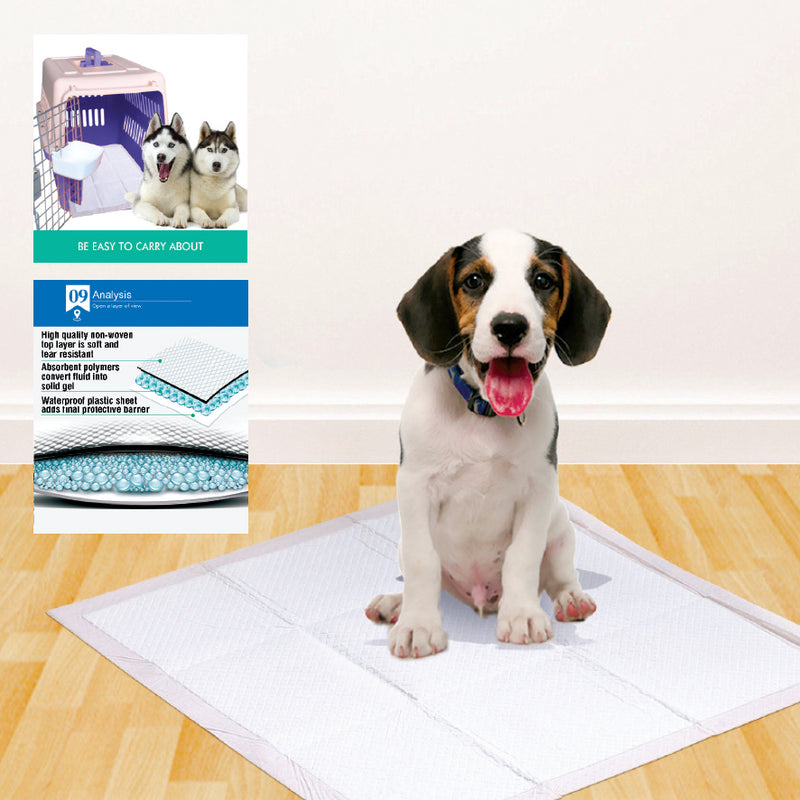MEADOW SCENT FRAGRANCED PET TRAINING PADS