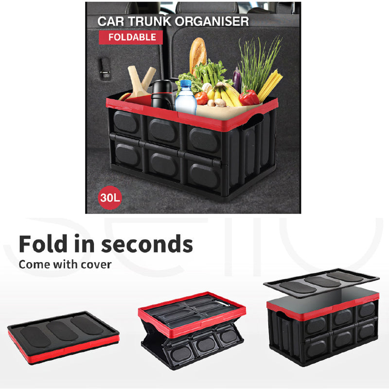 30 LITRE COLLAPSIBLE STORAGE CONTAINER