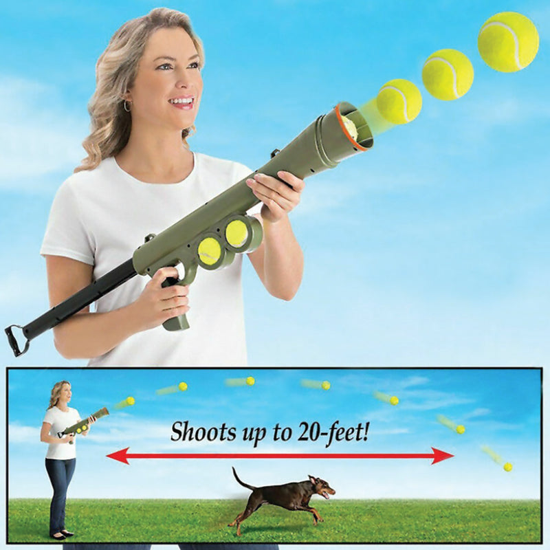 DOG EXERCISE BALL LAUNCHER