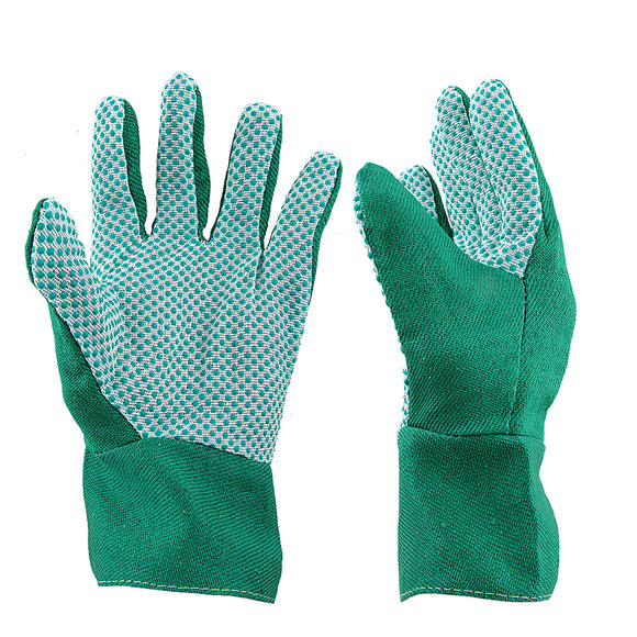 2 PAIRS OF GRIP PALM GARDENING GLOVES