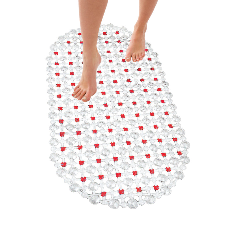 SET OF 2 NON SLIP SHOWER BATHMATS