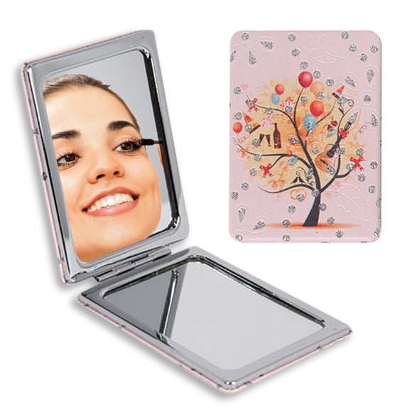 TREE OF LIFE COMPACT MIRROR