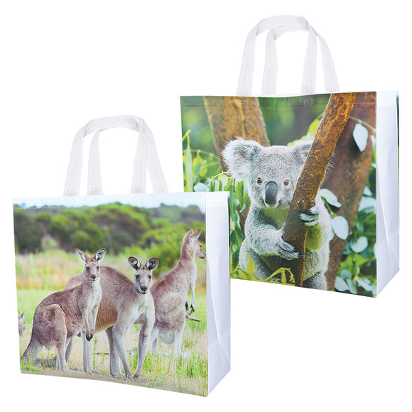SET OF 2 'AUSSIE' CARRY BAGS