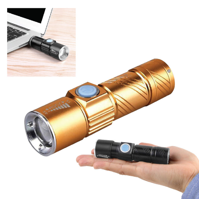 ALUMINUM USB MINI TORCH