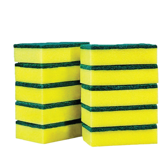 PACK OF 10 SPONGE SCOURERS