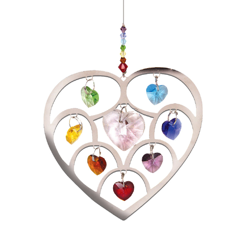 HEART SHAPE SUN CATCHER