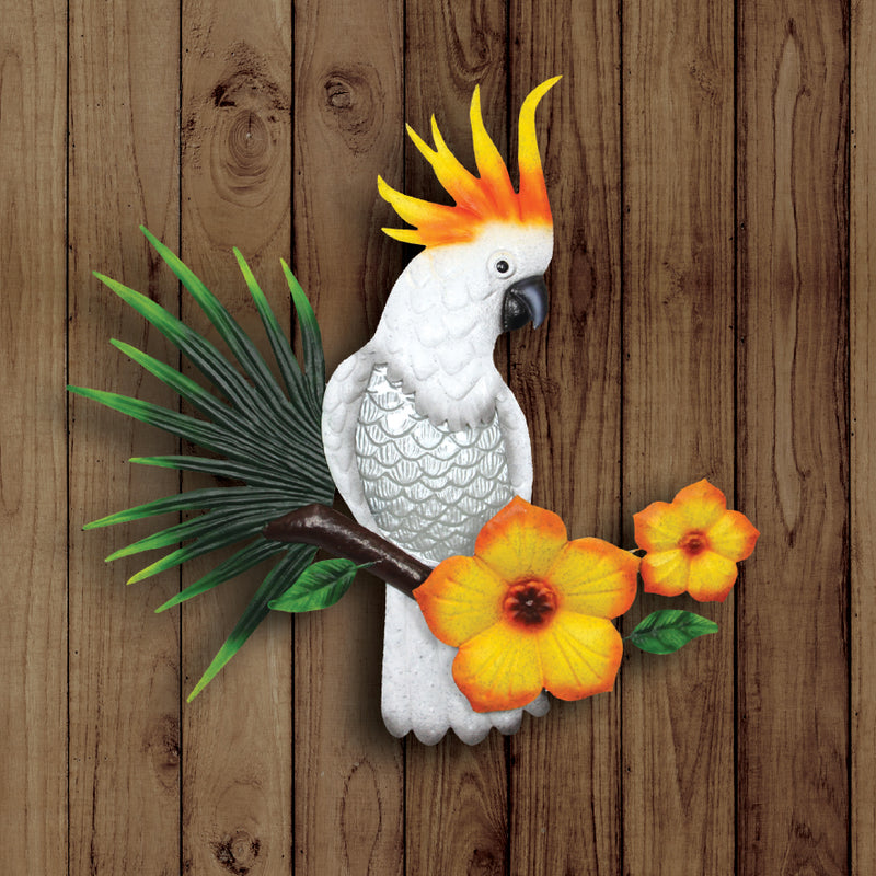 LARGE COCKATOO WALL ART
