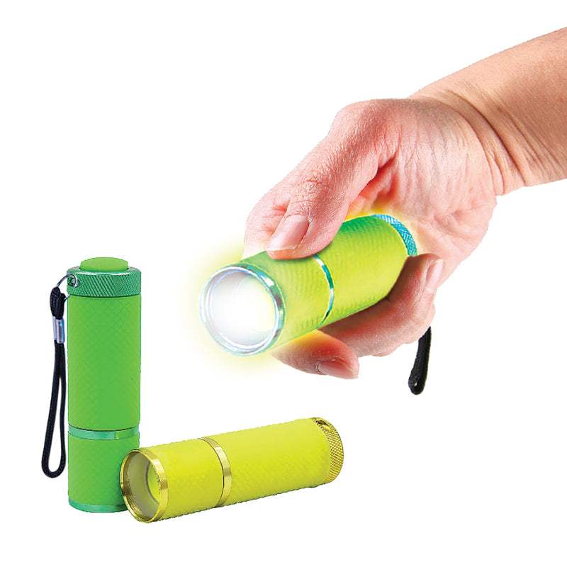 SET OF 2 GLOW IN THE DARK TORCHES