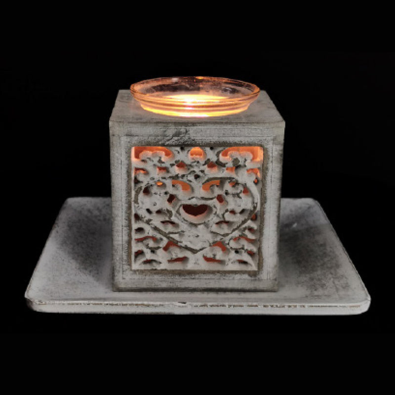 HEART TO HEART CANDLE HOLDER