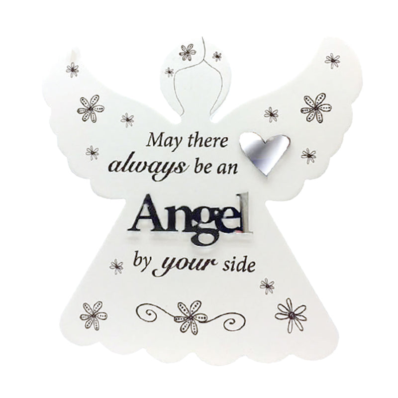 ANGEL BY YOUR SIDE GUARDIAN ANGEL PLAQUES