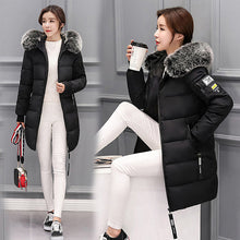 Load image into Gallery viewer, Winter Parka Coat Down Hooded Duck Down Jacket
