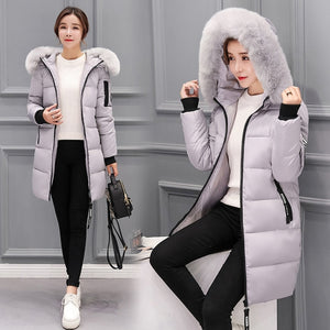 Winter Parka Coat Down Hooded Duck Down Jacket