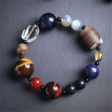 Load image into Gallery viewer, Eight Planets Bead Bracelet  Natural Stone Universe
