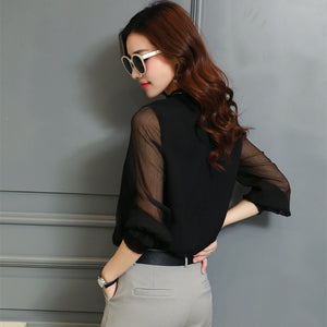 Elegant Work Wear Casual Blouse