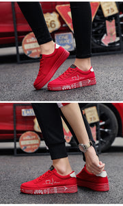 Lace-up Casual Breathable Canvas Shoes