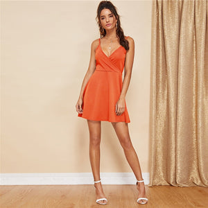 Sleeveless Sexy Women's Dress