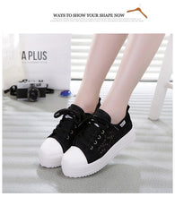 Load image into Gallery viewer, Women's Canvas Fashion Sneakers