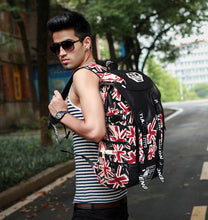 Load image into Gallery viewer, Graffiti Laptop Canvas Backpack/School Bag